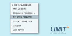 LIMIT Normen 13001