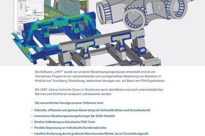 CAE Firmenfolder LIMIT Software