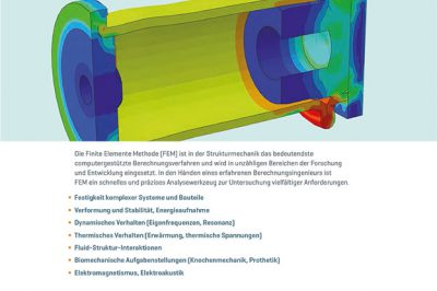 CAE Firmenfolder Strukturmechanik